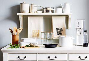 The Kitchen Shop: Kitchenware in Blue & White
