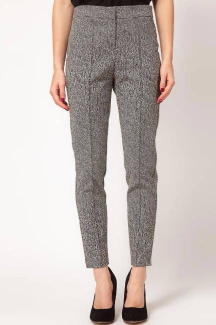Give the jeans a day off- try tailored trousers