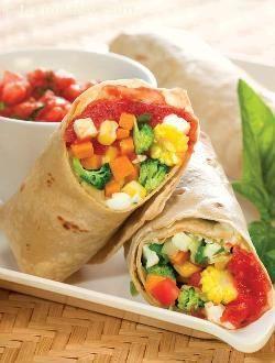 Healthy Diabetic Burritos