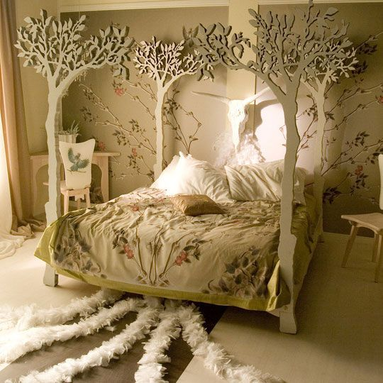 treesForests, Little Girls Room, Trees Beds, Canopy Beds, Dreams Beds, Canopies Beds, Beds Frames, Bedrooms, Fairies Tales