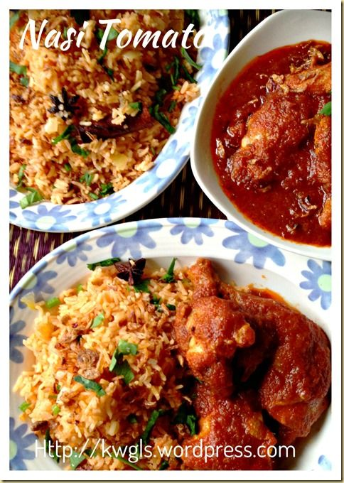 """INTRODUCTION Per Wikipedia on Malaysian cuisines, it was stated that Nasi tomato or tomato rice : """"Nasi tomato – rice cooked with tomato sauce or paste, milk, dried spices, and a sautéed remp…"""