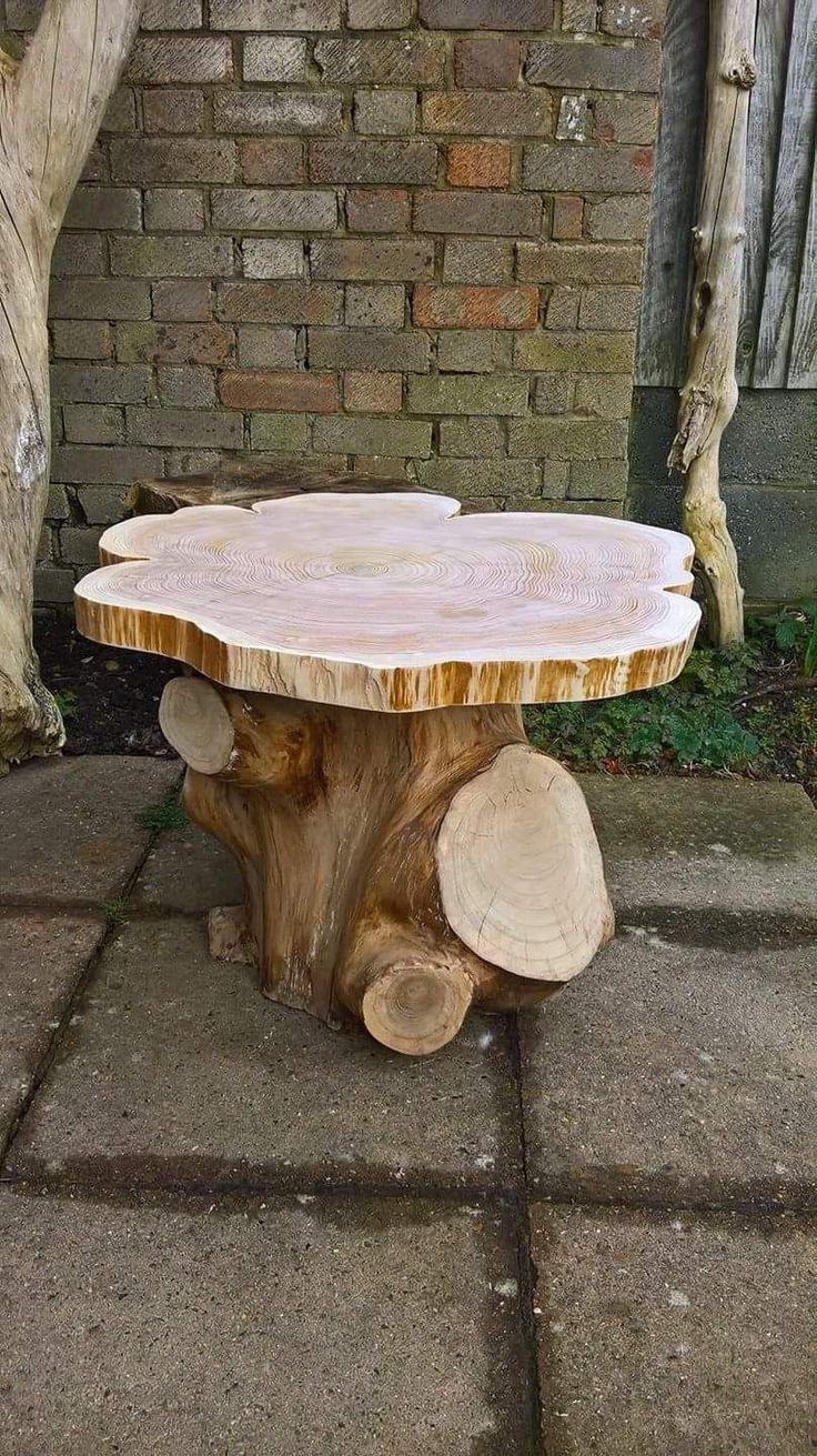Best 25 Tree stump coffee table ideas on Pinterest