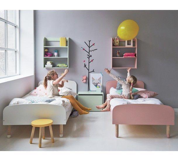 Flexa Play Børneseng - Flexa enkeltseng i hvid - 90x200