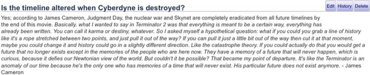 """Should have heeded James Cameron's words about making any more post-Terminator 2 installments to make the storyline even more confusing. If the poor U.S. box office results of last summer's Genisys proves one thing, maybe it's a little too late for the planned sequels to happen even with a little """"re-adjustment"""". Nobody cares about Terminator anymore in a world of Star Wars, Marvel, DC, etc."""