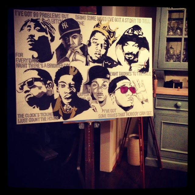 Snoop dogg and biggie smalls the image for Eminem wall mural