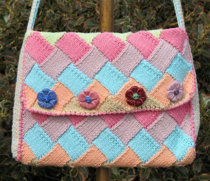 21 Best Knitting entrelac images | Crochet patterns ...