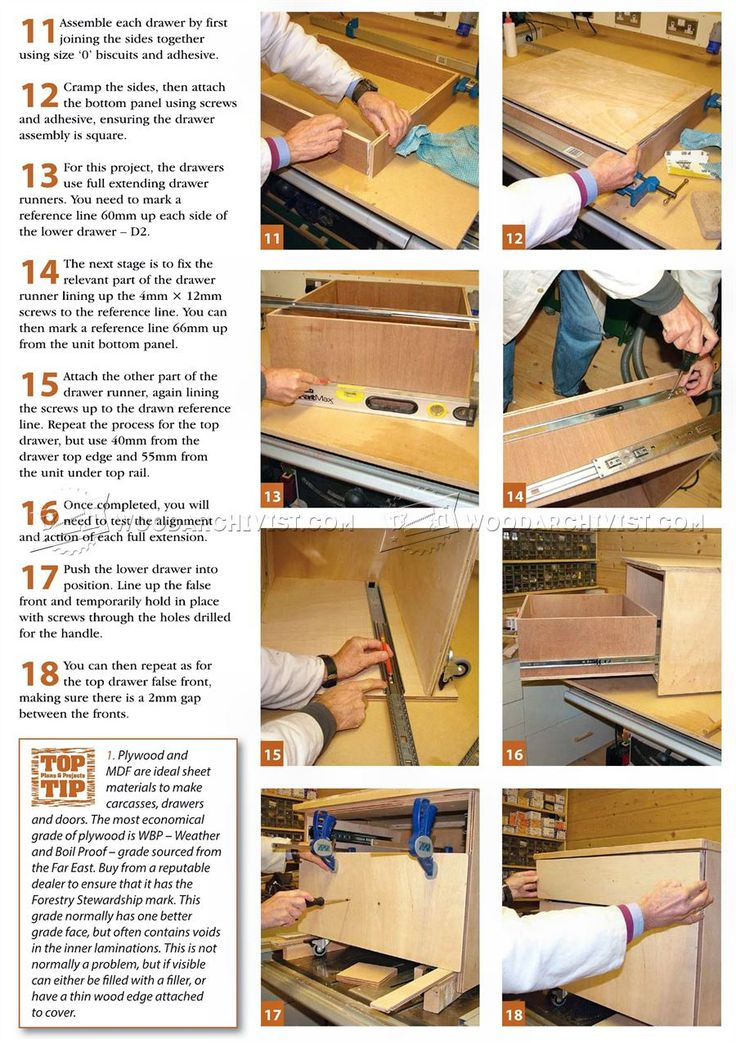 Triton Router Table Unit Plan - Router