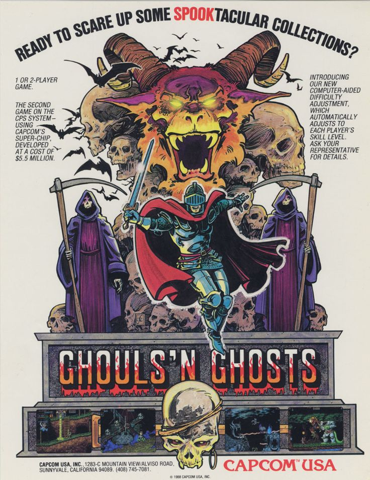 Ghouls and Ghost Poster