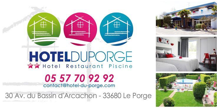 Hotel Du Porge à Le Porge, Aquitaine, entre lacanau et bassin d'arcachon