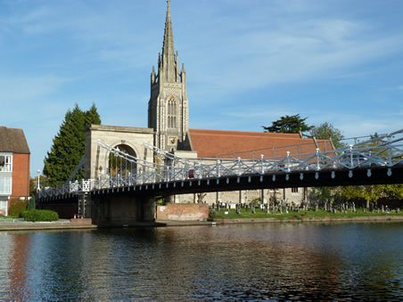 Marlow Bridge and Church!