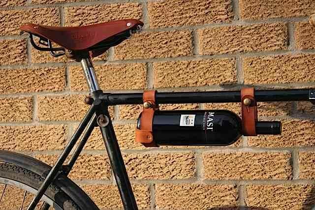 The Bicycle Wine Rack from Etsy