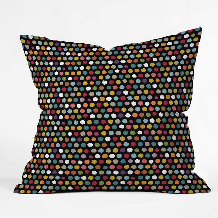 Sharon Turner Pom Pom Spot Throw Pillow: 26 Inch Deny, Pom Poms, Pom Spot, Deny Designs S, Throw Pillows, Sharon Turner, Designs Sharon, Turner Pom, Spot Throw