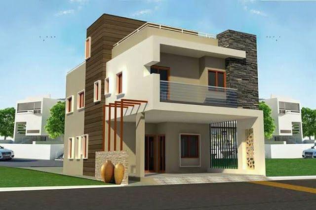 Top 50 Elevation Design Part 2 Duplex House Design Small House Front Design Small House Design Exterior Small house plan in kolkata