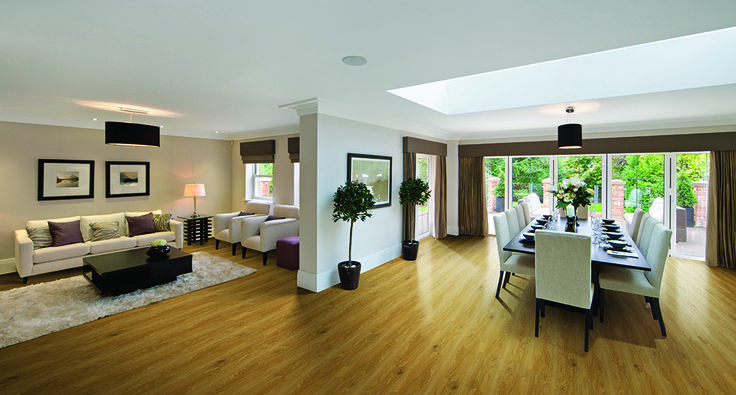 Vinyl Floors | Godfrey Hirst Flooring | Get the look with Omega in Rustic Oak Silky #vinylfloors #vinylflooring #vinyl #godfreyhirst #hardflooring