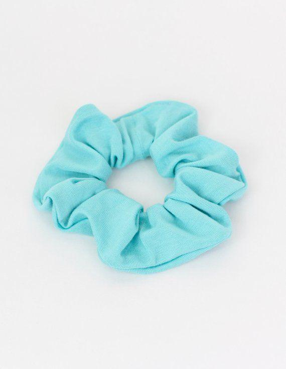 Silver Velvet Scrunchie Hair scrunchie hair band hand made in Aust