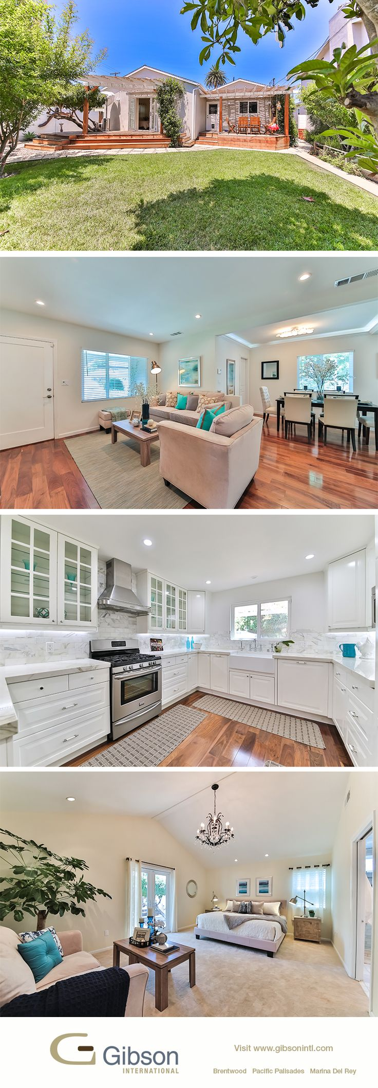 Everything Is New Inside Your Culver City Home Rebuilt In Sept. Rustic  Charmer With Tranquil Backyard Garden. Open With Agents Peter And Ty Bergman .