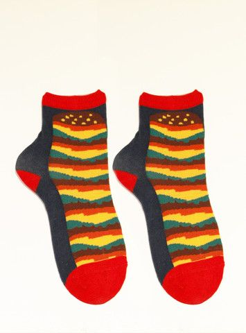 Hamburger Socks – Limedrop