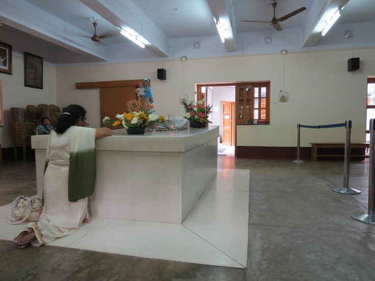 chapel and tomb of  Mother Theresa Calcutta