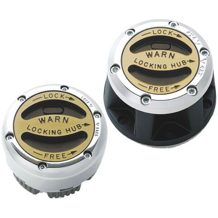 Warn 28761 Premium 4WD Manual Locking Hubs 1986-1995 Toyota 4 Runner w// ADD