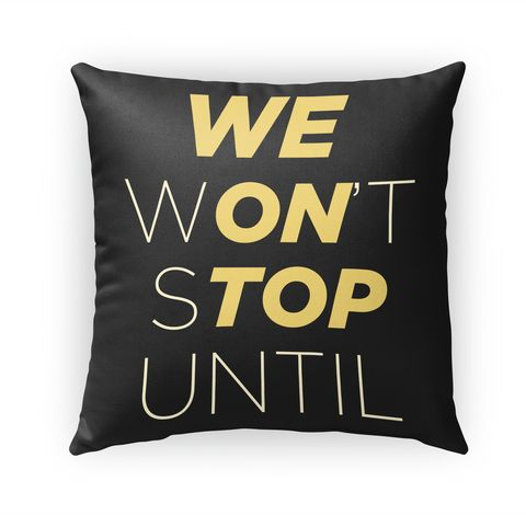 We On Top Pillow Standard T-Shirt Front