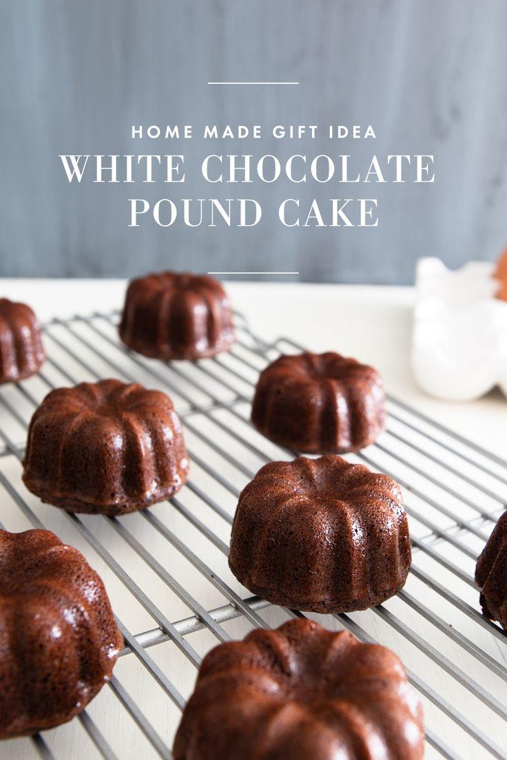 White Chocolate Pound Cake /