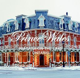Weddings at the Prince of Wales Hotel in Niagara-on-the-Lake