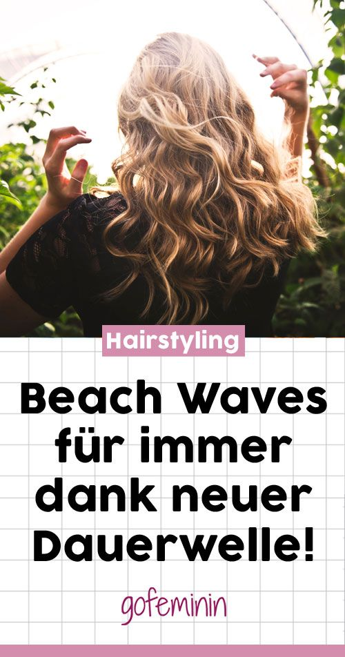 The comeback of perm: Beach Waves that last really long