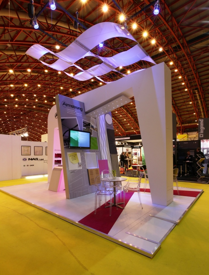Marketing Exhibition Stand Jobs : Armstrong infusions canopies on exhibition stand