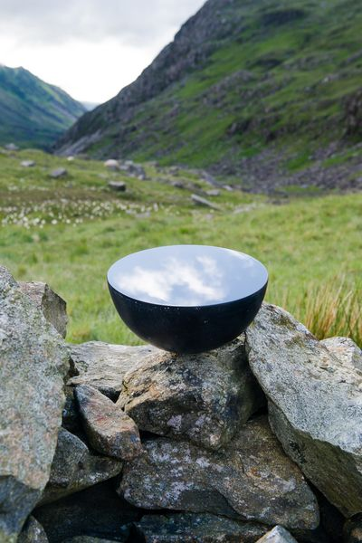 new work 'Claude Glass' on Snowdon, opens at Dove Cottage