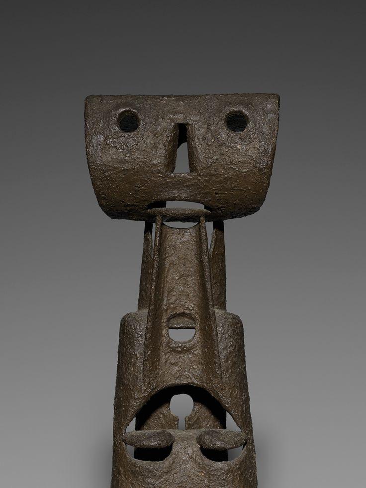 Leo Amino (American, 1911–1989) Untitled , 1957 polyvinyl acetate 20.75 x 7 x 6.25 in. (52.7 x 17.8 x 15.9 cm.)
