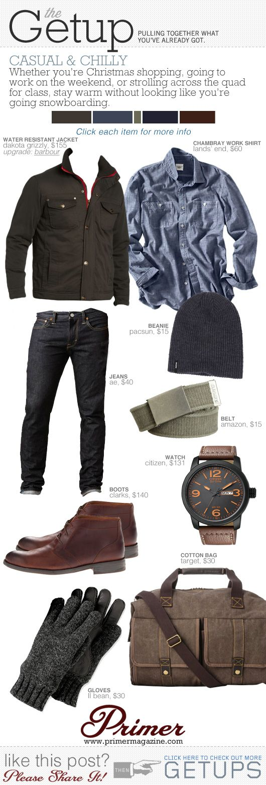 The Getup: Chilly & Casual   Primer