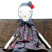 jess brown....rag dolls, fashioned after antique French dolls