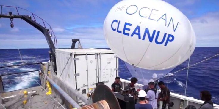 Boyan Slat es un joven ingeniero con una idea innovadora. Quiere limpiar la basura del océano Pacífico, y ha descubierto una forma de hacerlo. Utilizando una flota de barcos depositan un
