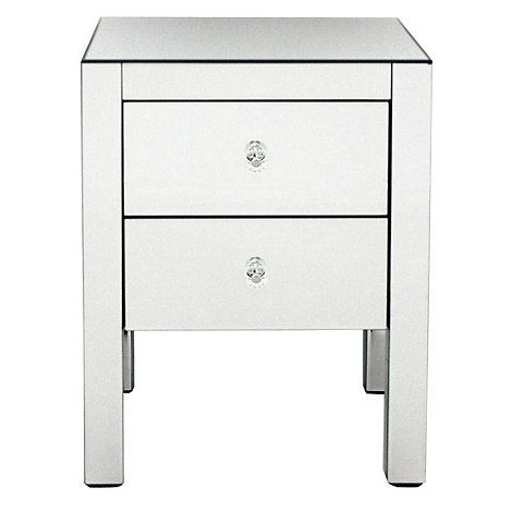 Debenhams Mirrored bedside cabinet- at Debenhams.com