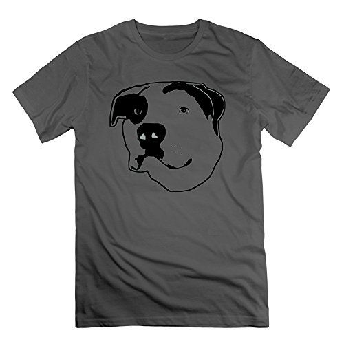 Christerry Style Personality Men Pit Bull Tbone Tshirt  Pit Bull Tbone Painting In Xlarge ** Check out this great product.