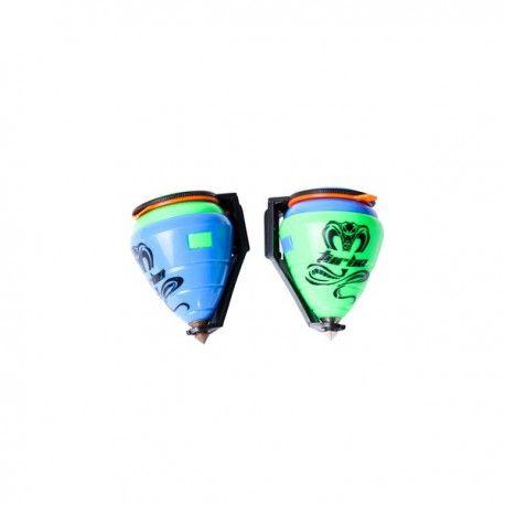Divertida peonza pvc ideal para regalar a los niños  Se sirve surtida en color AZUL/VERDE. Tienda de #Regalos economicos en España para #Bautizos. Siguenos en https://www.facebook.com/bodasbautizoscomunionesregalos