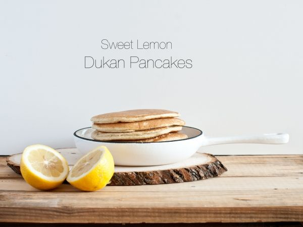 Lemon Zest Pancakes (MyDukanDiet.com)