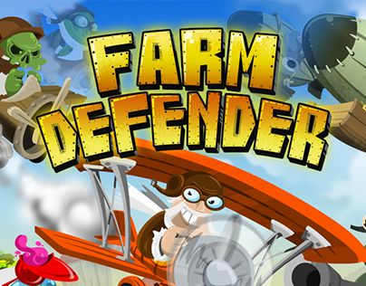 """Check out new work on my @Behance portfolio: """"Farm Defender"""" http://be.net/gallery/33484041/Farm-Defender"""