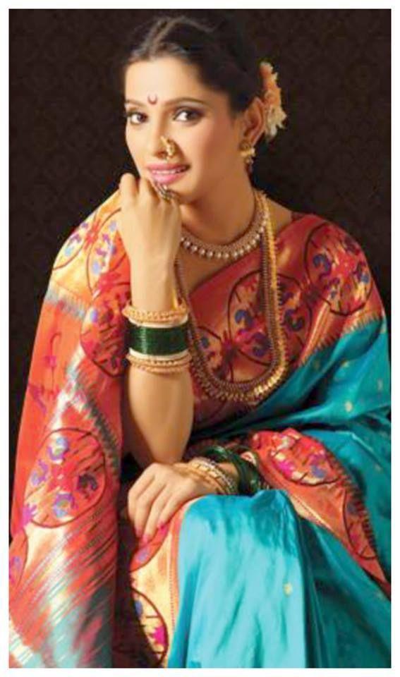priya bapat  #marathi #paithani