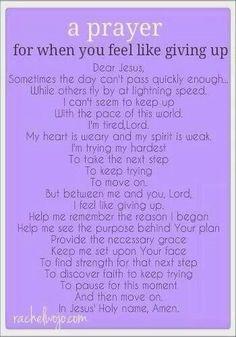 Strength prayer