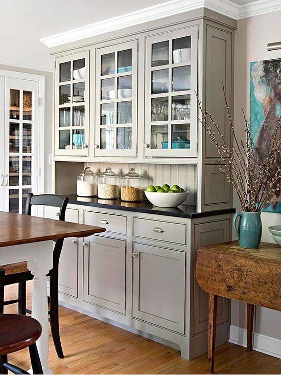 Best Benjamin Moore Rockport Gray Kitchen Cabinets Boost Your 400 x 300