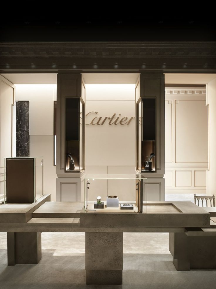 Tristan Auer @cartier #jewelry shop design