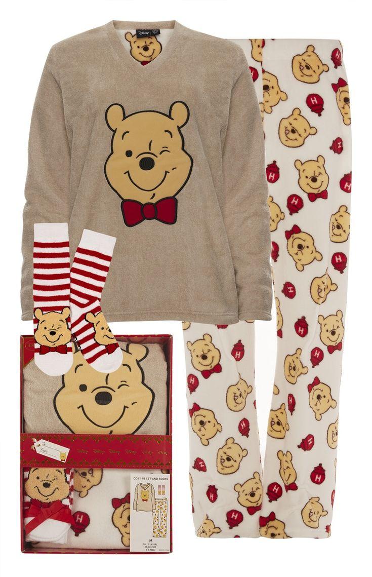 Primark Winnie The Pooh Gift Box PJ Set London Wish Winne The Pooh Disney Pajamas Pajamas