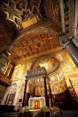 Santa Maria in Trastevere, Rome Lazio Hours: 9:30-6:30pm http://www.tripadvisor.com/Attraction_Review-g187791-d243029-Reviews-Santa_Maria_in_Trastevere-Rome_Lazio.html