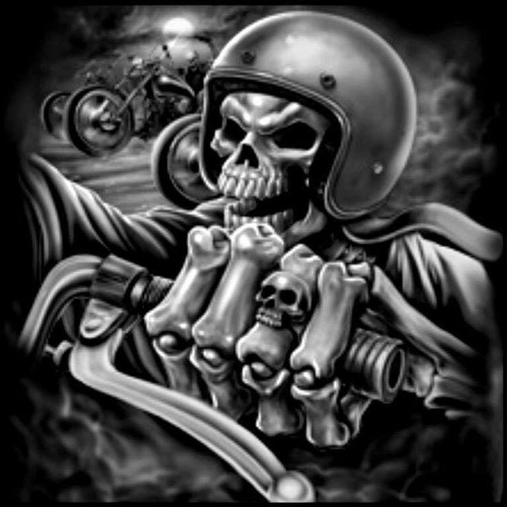 Harley Davidson Skulls Harley Davidson Airbrush Skull
