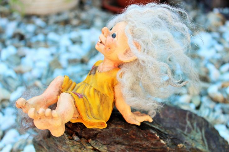 Vintage Original Norwegian Candy Designs Troll Doll Norway Scandinavian Figurine by Grandchildattic on Etsy