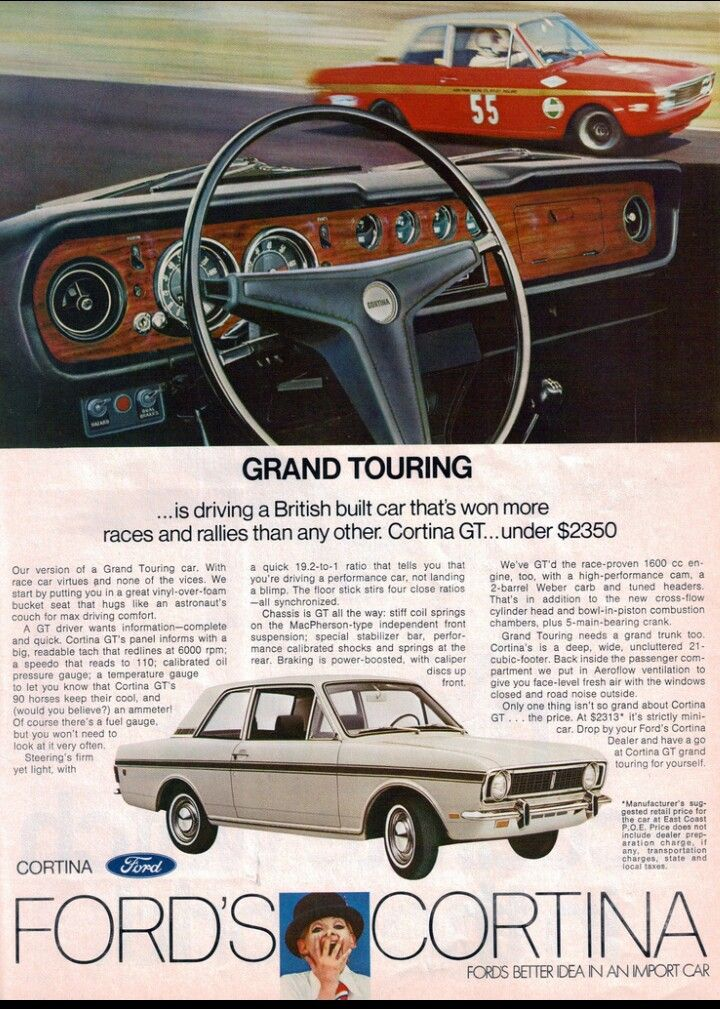 1969 Ford Cortina Gt Usa Euro Cars Pinterest Ford Cars And