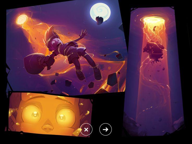 Adventure Era | Cutscene | UI HUD User Interface Game Art GUI iOS Apps Games | www.girlvsgui.com