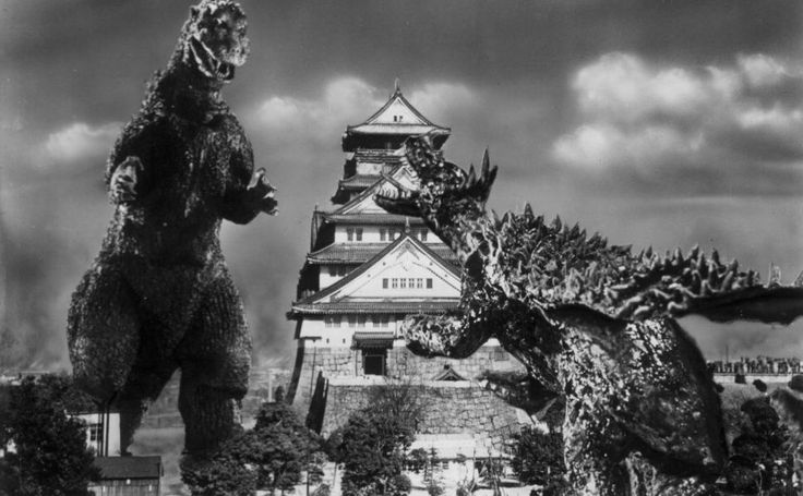 Godzilla Raids Again HD Wallpaper
