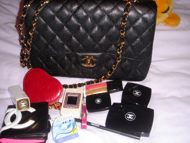 1f88ba8ac2725d What's in your CHANEL bag today? Include pics! - Page 2 - PurseForum | It's  in the Bag | Bags, Purses, bags, Chanel